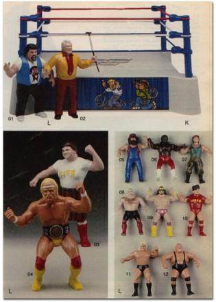 ljn wrestling, ljn wrestling figures, ljn wrestling superstars